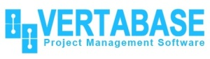 logo -Vertabase with words project-management-software
